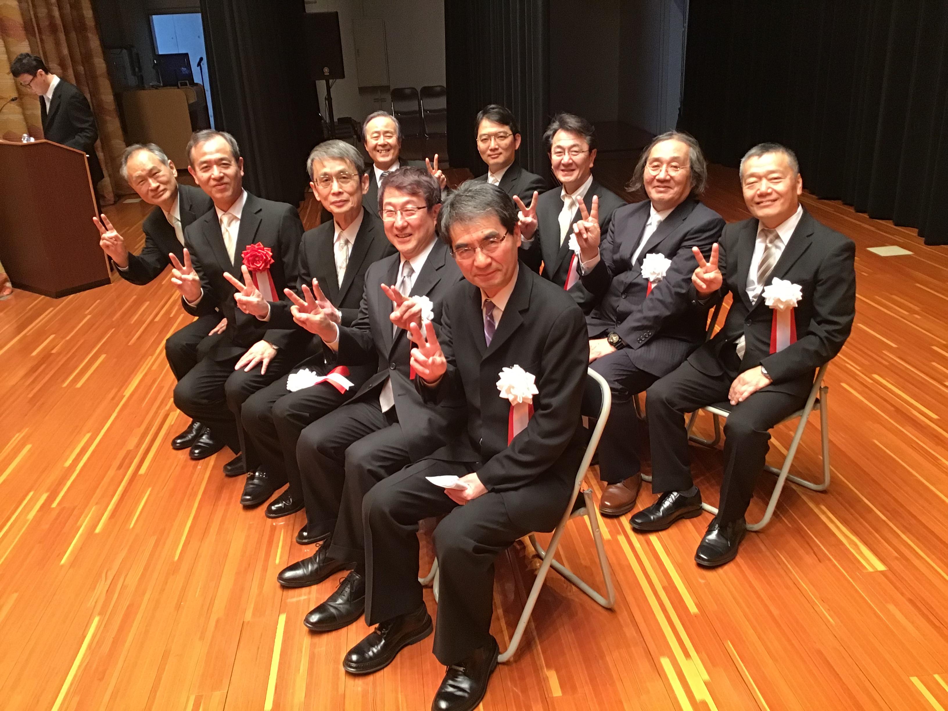 平成30年度 尚美学園大学・大学院学位授与式に尚友会高埜会長が参加しました。